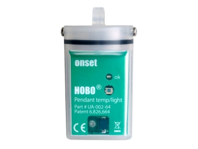 ONSET HOBO Pendant® Temperature/Light 64K Data Logger