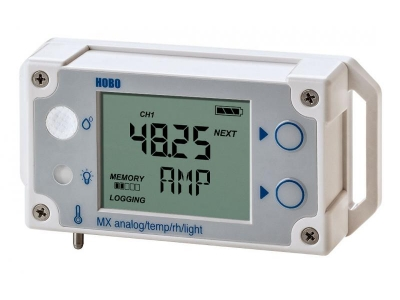 ONSET HOBO MX1104 Analog/Temp/RH/Light Data Logger